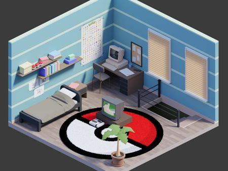 Isometric Room | Weekly Drills 034