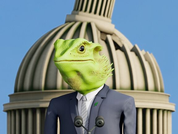 Sir Frank - President of Costa de Reptilia