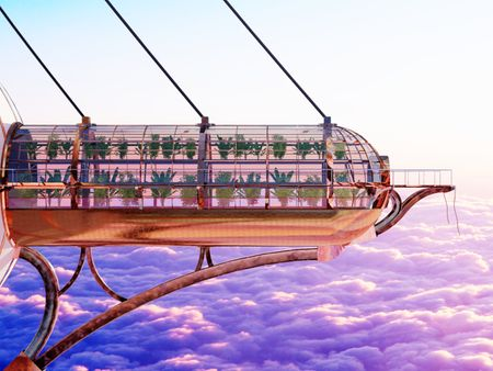 Greenhouse Above The Clouds