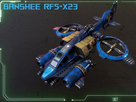 Banshee RF5-X23 (StarCraft 2 Fan Art)