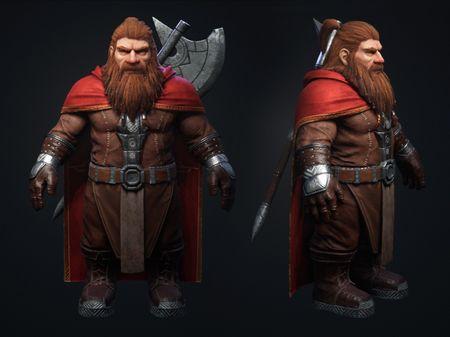 Torbran, UE4 Real-Time Character