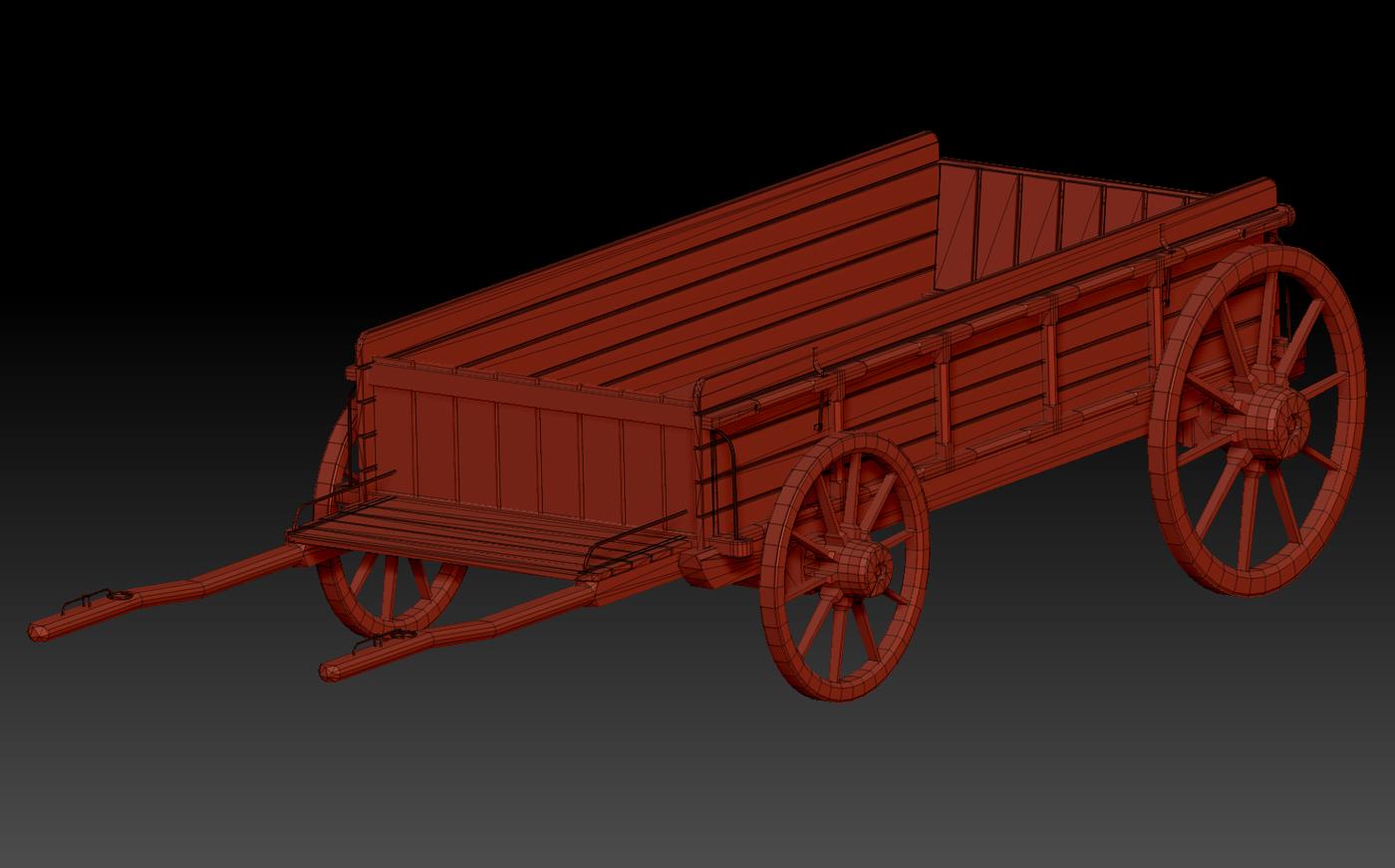 Wagon Retopologised A3 Mmillion1