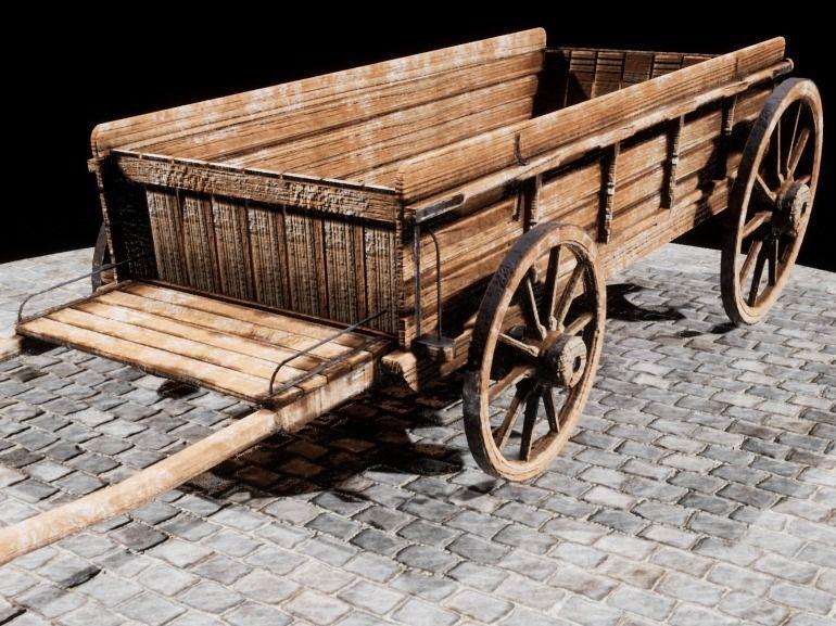 1886 Wagon Model