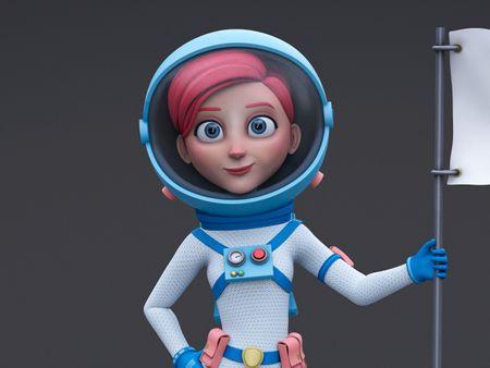 Spacegirl - astronaut