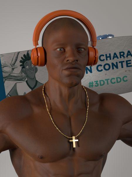 Black Man(Sportsperson)