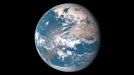 Realistic Earth Render