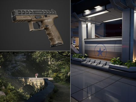 A Collection of Environments and Game Models