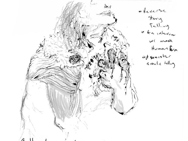 Frankenstein Sketch n Ideas