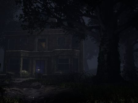 Post-apocalyptic house environment
