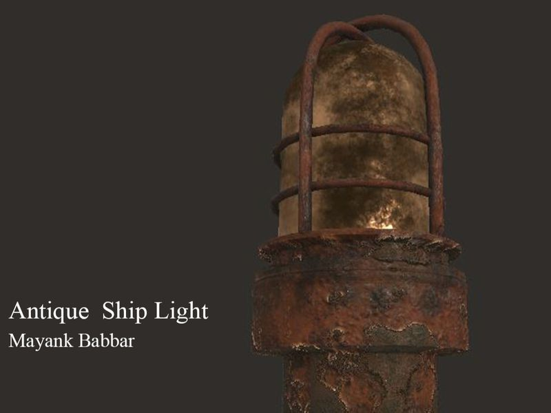 Antique Ship Light