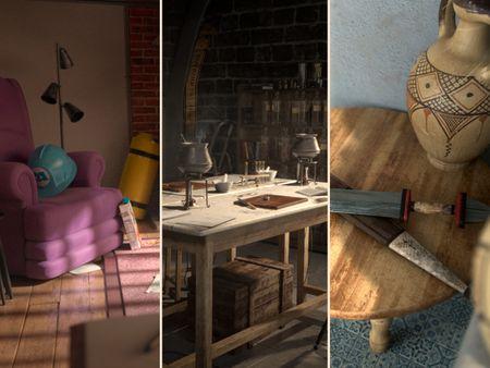 Morgane Jolivel - 3D creations