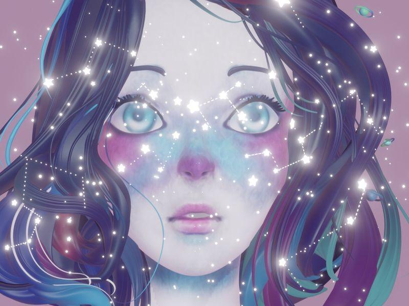 Starred eyes