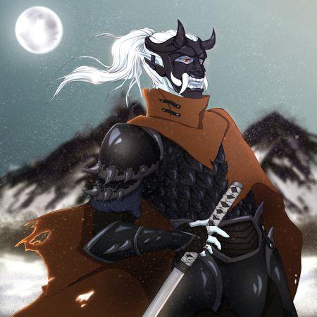 The Oni Samurai