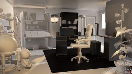 Animators Office Room