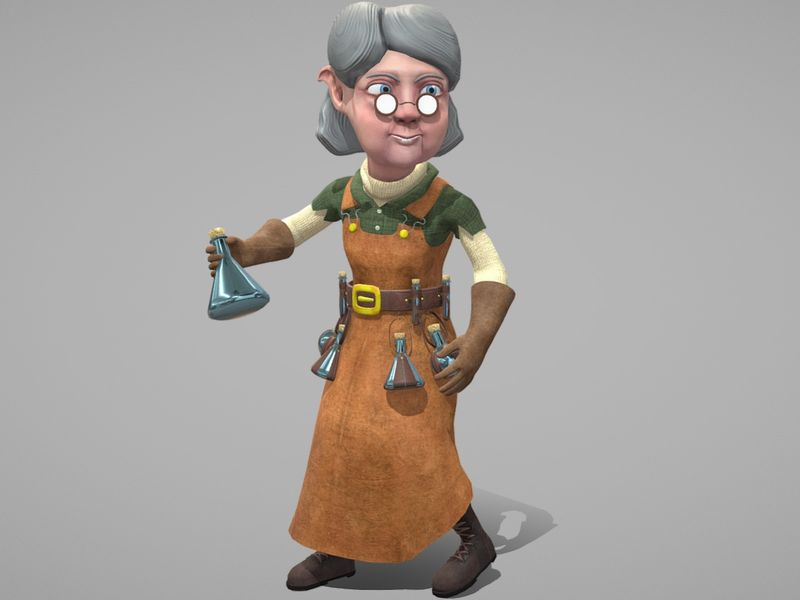 Annabelle - The Alchemist (Game Character)