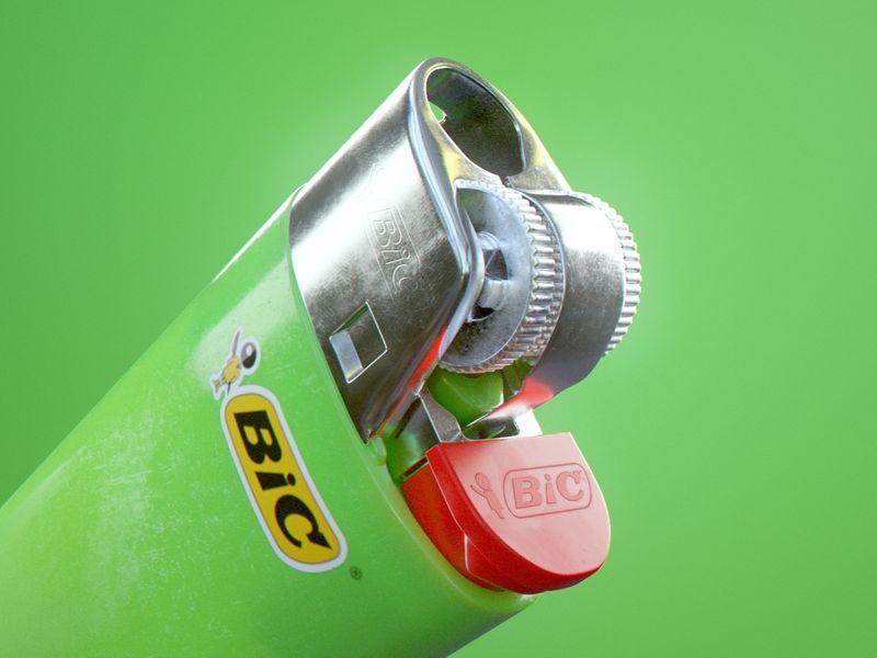BIC Lighter - Surfacing exercice