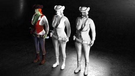 Character Design Showreel