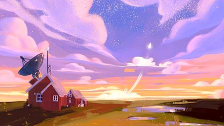 Spacefarm illustrations