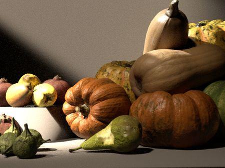 Lighting Study - Caravaggio's 'Still Life With Fruit'