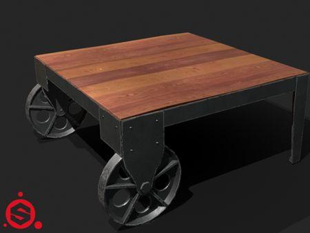 Railroad Coffee Table
