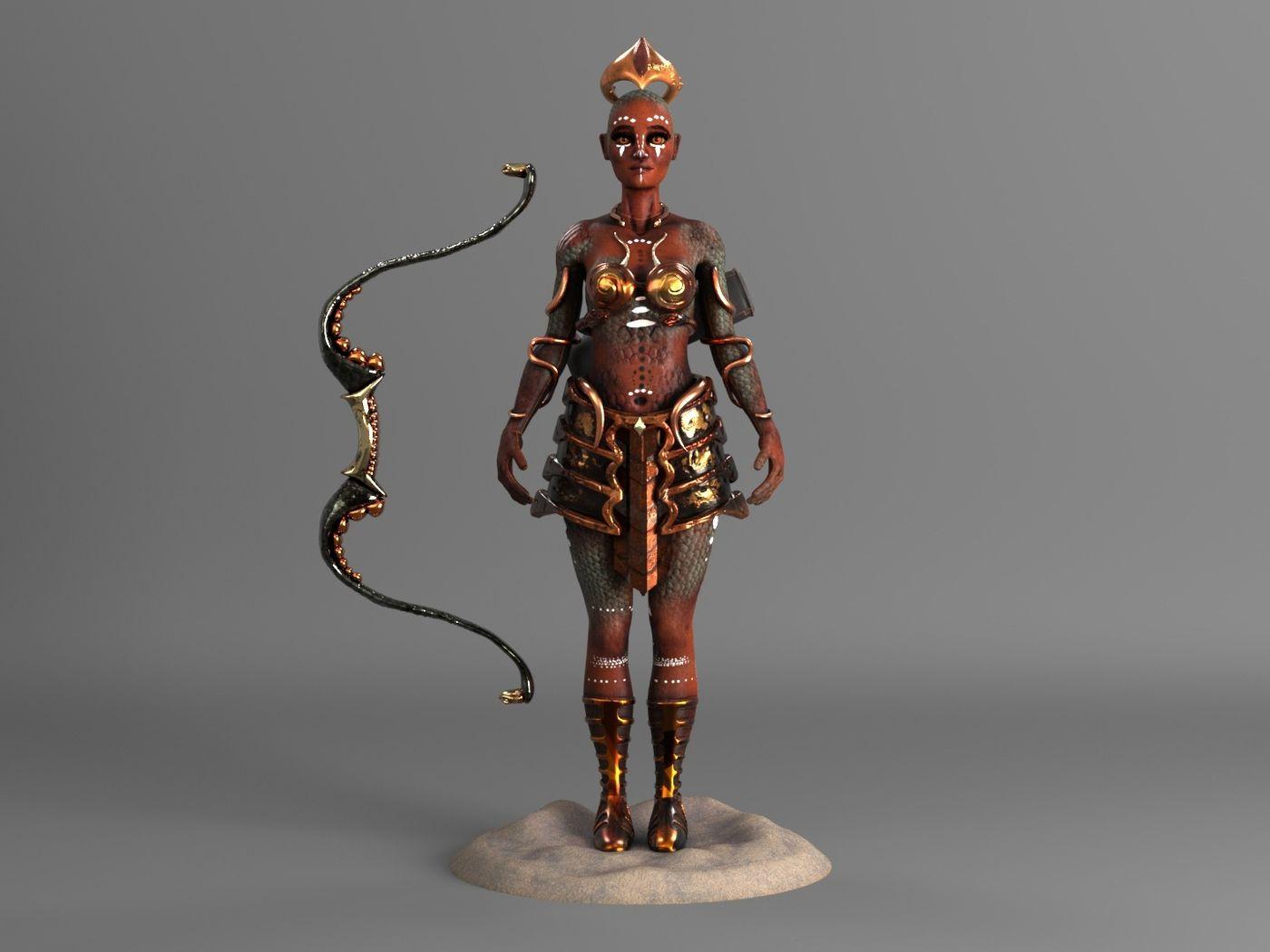 Medusa, The Defender of Snakes