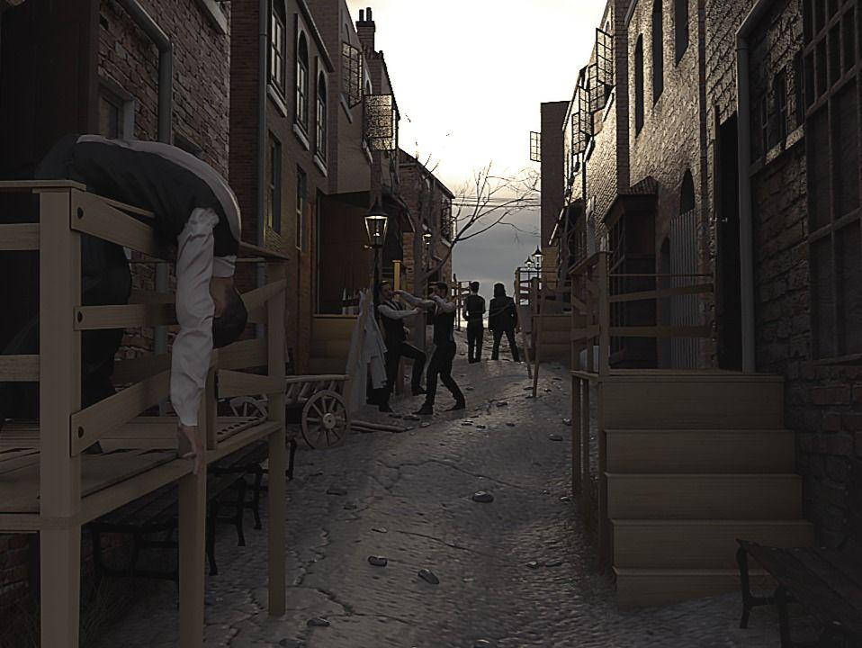 A Dangerous Alley