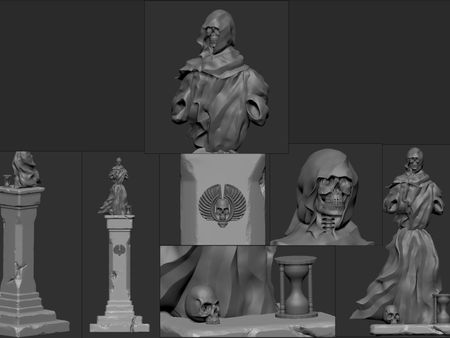 Hammerlord Mod: Statue of Morr