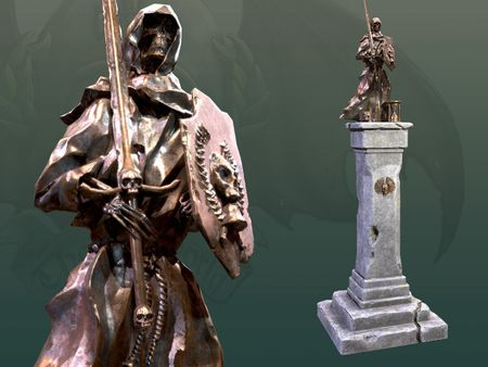 Statue of Morr - The Old World Mod asset