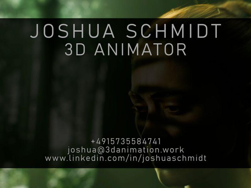 Student animation Portfolio | Joshua Schmidt