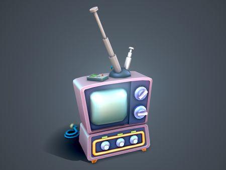 Stylized TV