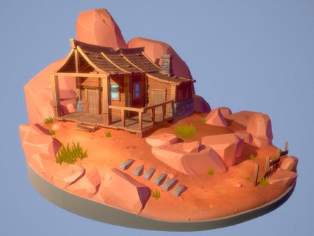Desert Cottage