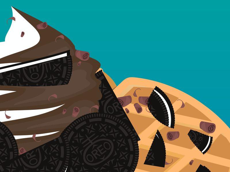 Tasty Desserts - Oreo Waffle