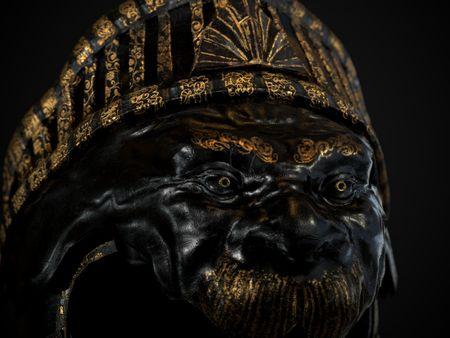 Ornate Ceremonial Helmet
