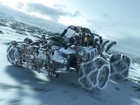 Snowy Buggy