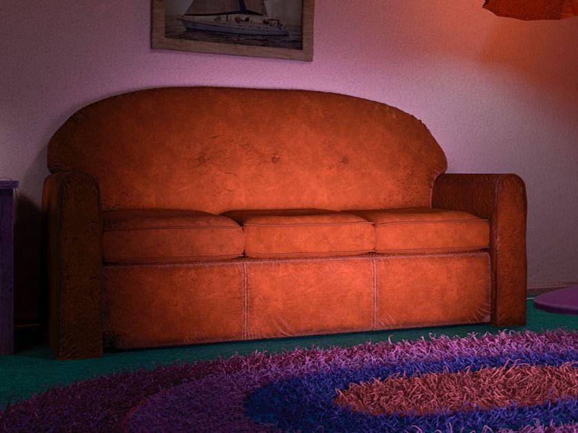Simpson Living room