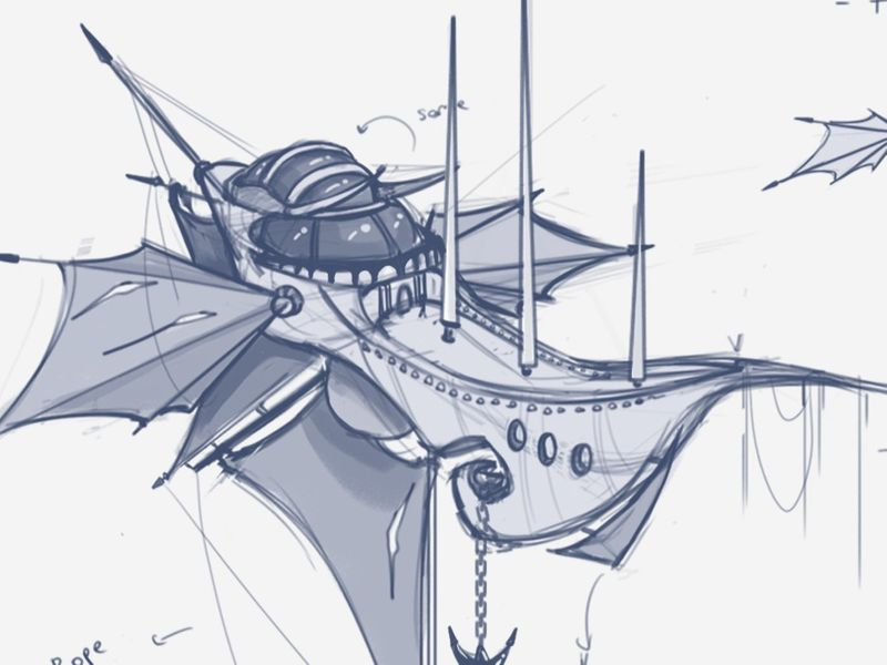 Flying Ship Concept