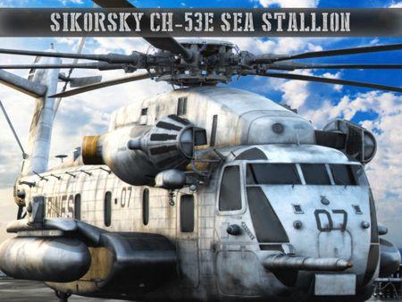 Sikorsky CH53E Sea Stallion