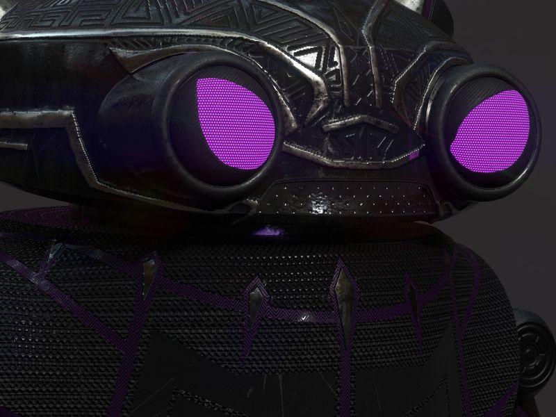 Eddie Black Panther