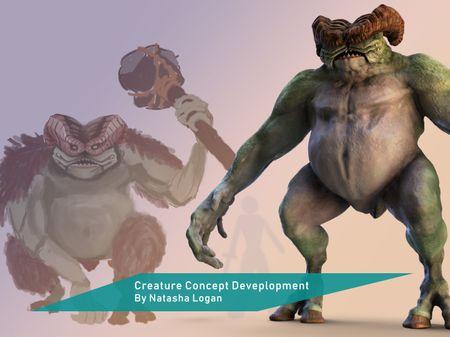 Zorak - Creature Development