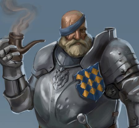 The Blue Light: Old Knight