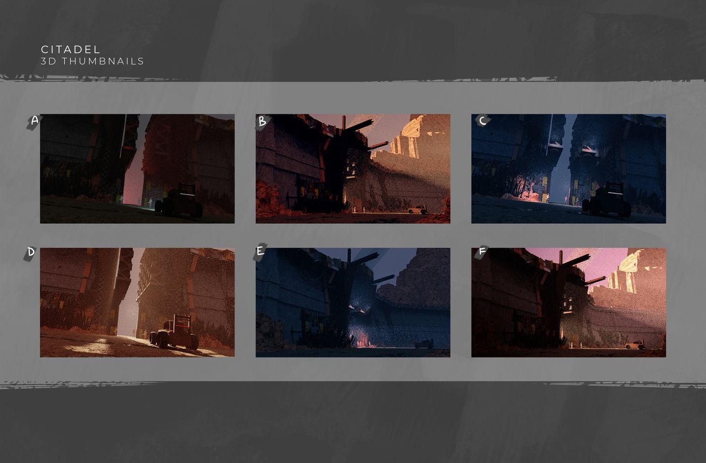 Citadel 3 D Thumbnails Natethorman
