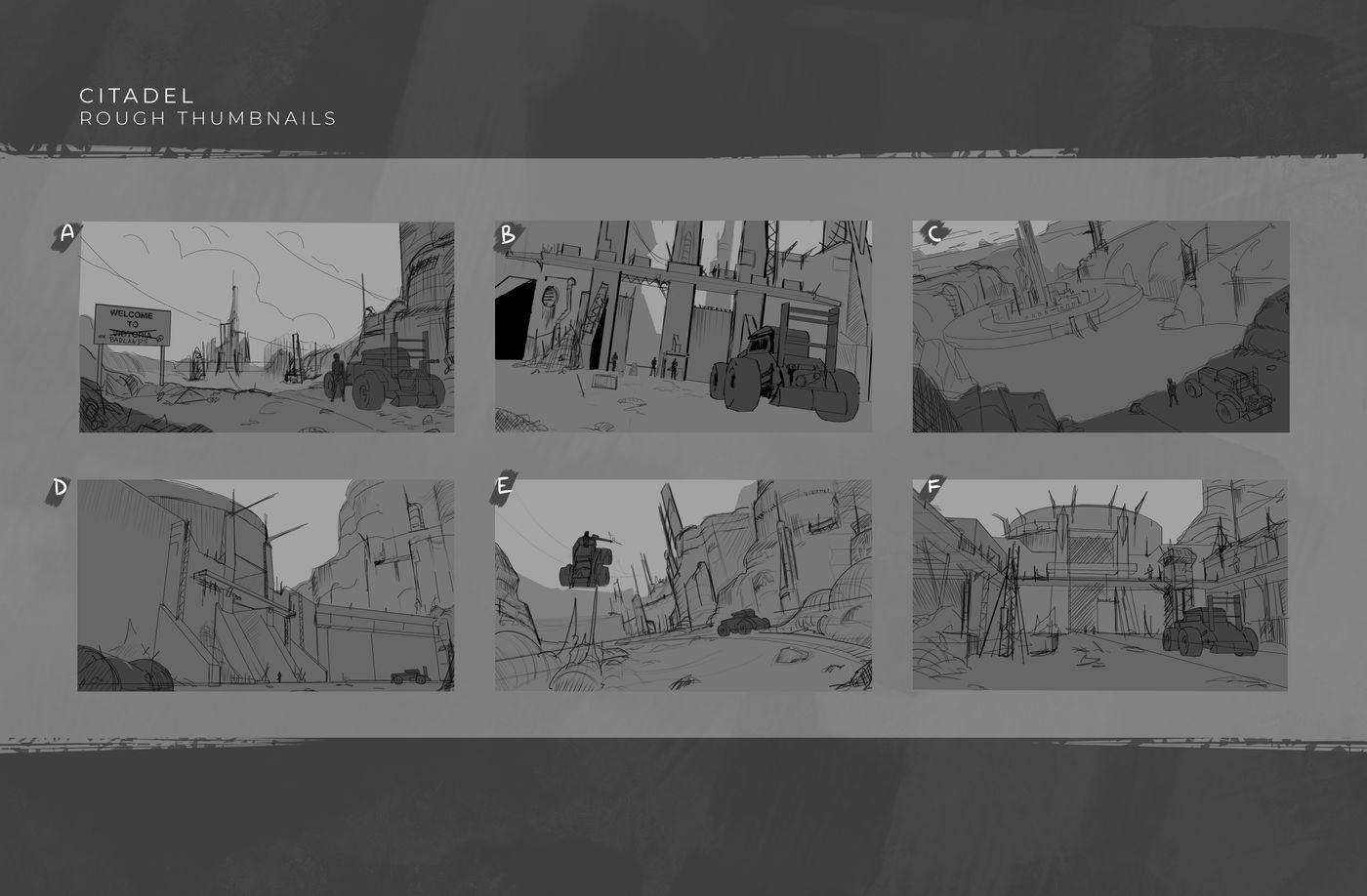 Citadel Rough Thumbnails Natethorman