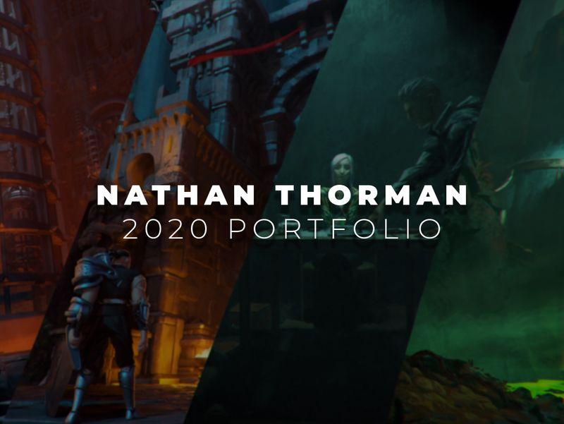Nathan Thorman - 2020 Concept Art Portfolio