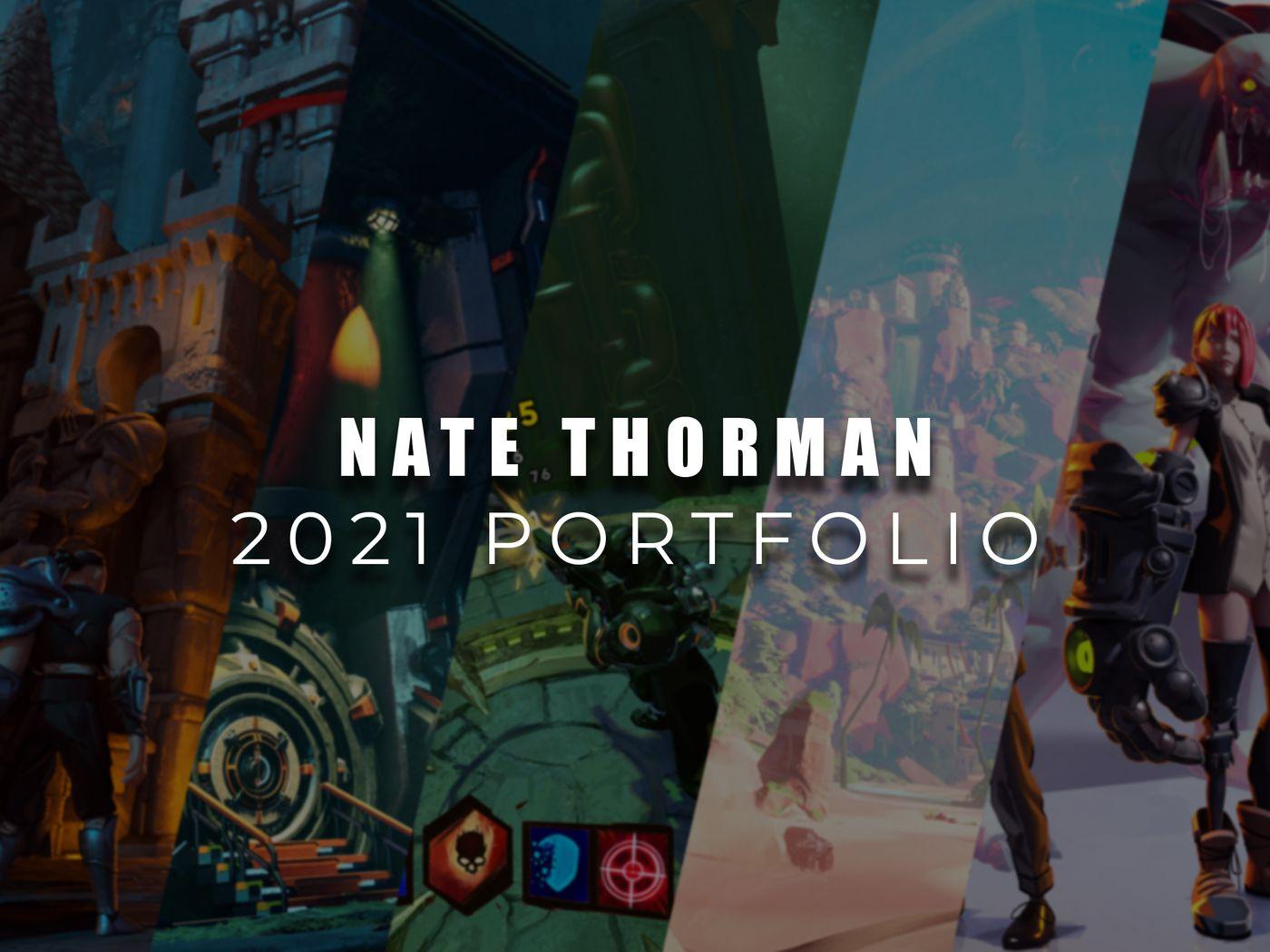 Nate Thorman - Concept Art Portfolio 2021