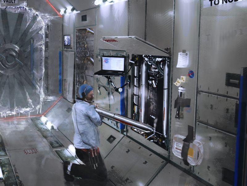 Nasa environment _ corridor to the vault