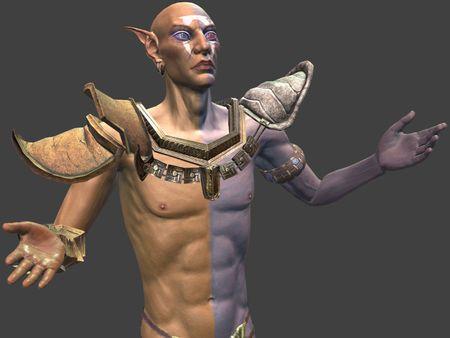 Morrowind fanart: Vivec