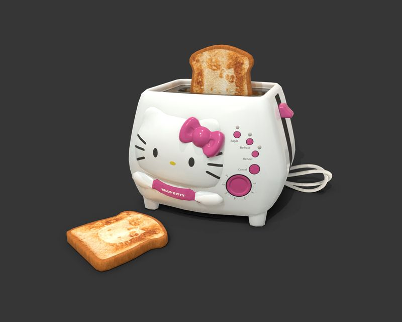 Weekly Drill 11 - Hello Kitty Toaster