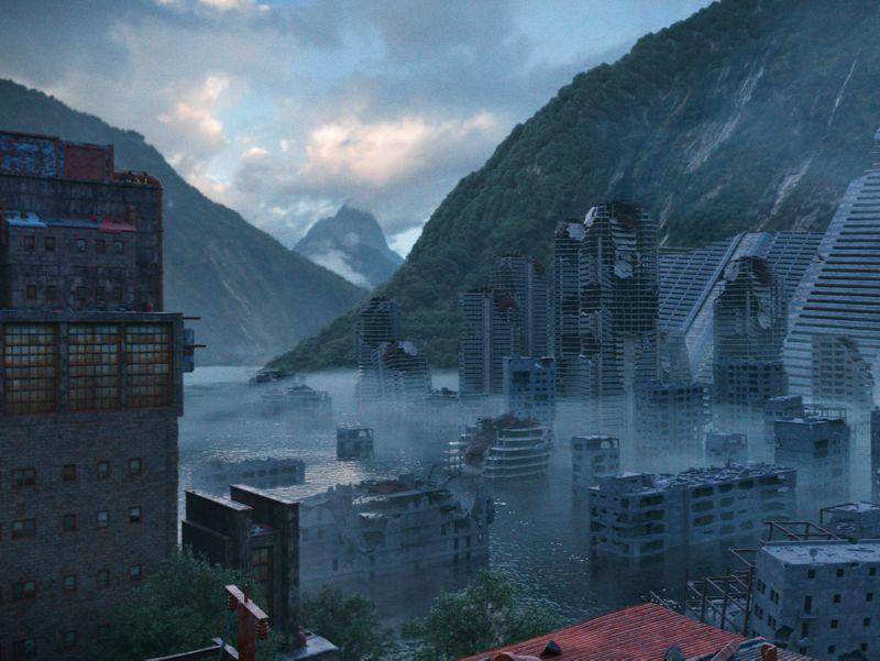 Flooded City