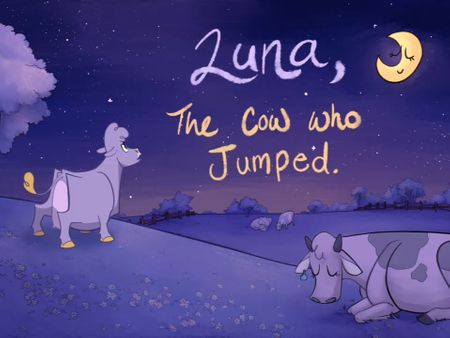 Luna, the Cow Who Jumped
