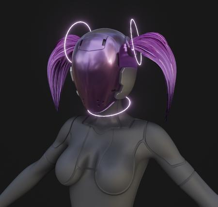 Feminine robot design [wip]